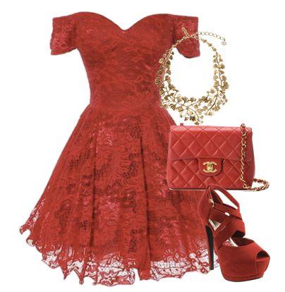 Perfect red dress <3