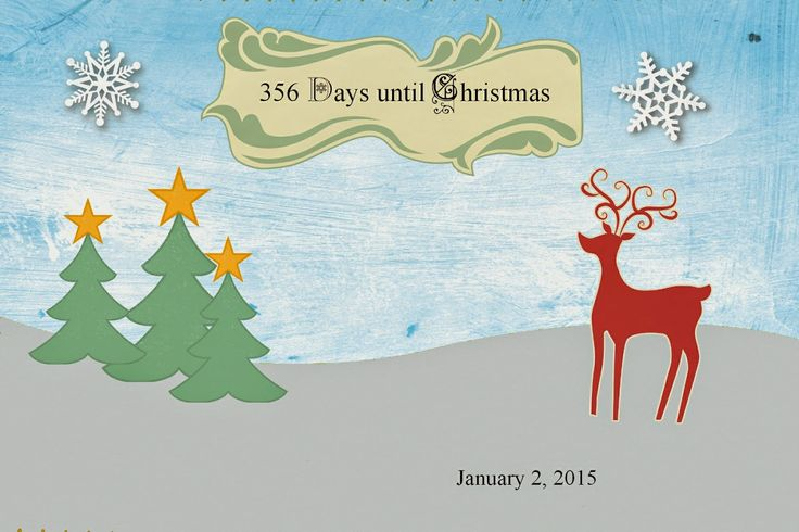 Thinking on Dee's Things: How many days until Christmas?   Days until christmas, Day, Christmas