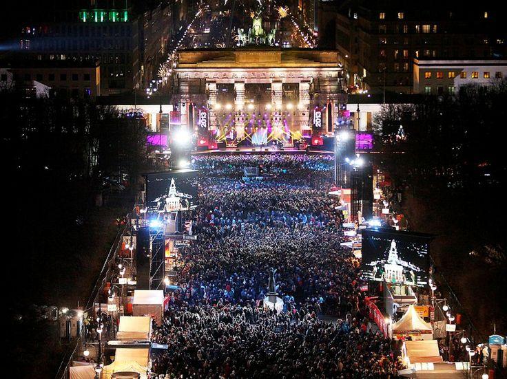 So läuft die große Silvester-Sause in Berlin | Silvester