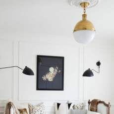 35 moderne Wohnzimmerlampen Designs, die Sie sich unbedingt ansehen müssten