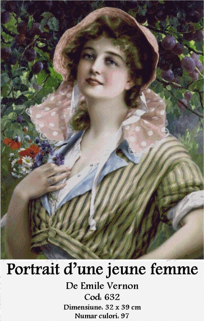 Goblen – Portrait d'une Jeune Femme