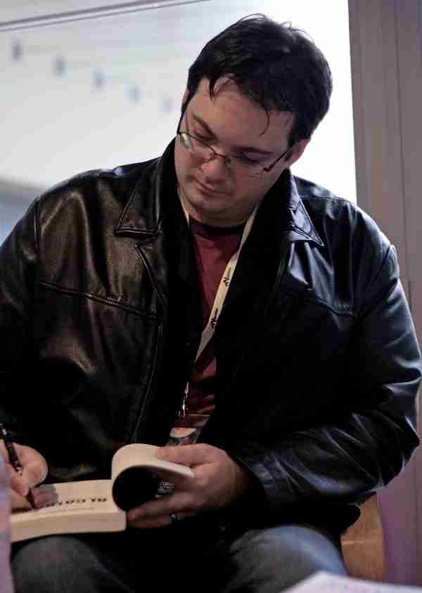 Brandon Sanderson, fantasy author who continued The Wheel of Time series after Robert Jordan's death