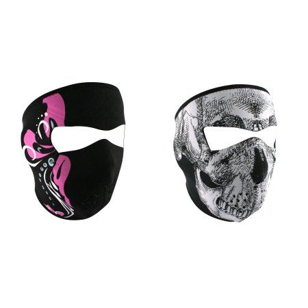 Zan Headgear Value Bundle consisting of 1 ZanHeadgear 'Mardi Gras' Full Face Neoprene Face Mask -AND- 1 Zan, Oversized, 'Black & White Skull' Full Face Neoprene Face Mask, Ski Mask -   Price:  .rTable display: table; width: 620px; font-family: Helvetica; font-weight: normal; cont-color: #CBCBCB; Font-size: 11px;.TR1 display: table-row; background-color: #D2EBED;.TR2 display: table-row;.TC1 {display: table-cell; width: 225px; padding: 9px 30px; border: 0px solid #999;... - htt