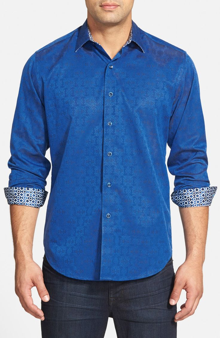 Robert Graham 'Cullen' Classic Fit Jacquard Shirt