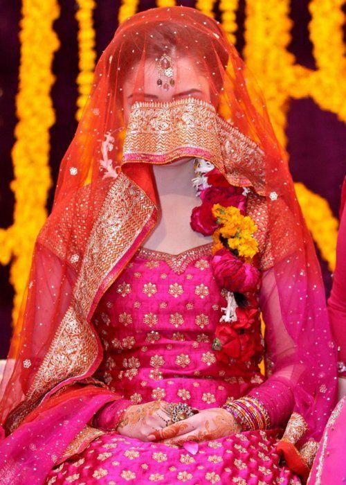 Makeup For Mehndi Night : Best authentic pakistani bridal dresses images on