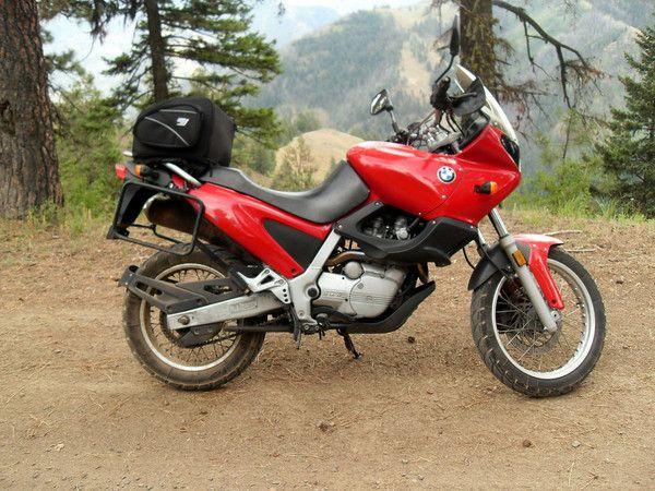Li'l Red, my now-gone BMW f650 Funduro. Great bike, bad ...