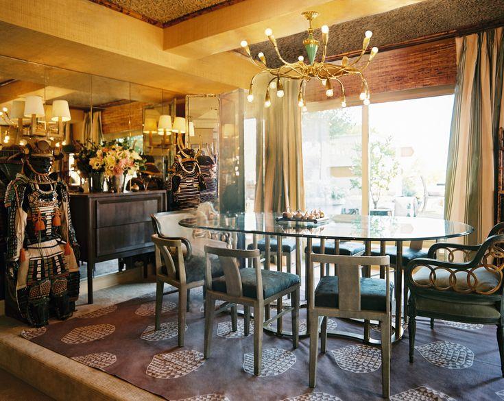 Bohemian Dining Room Photos