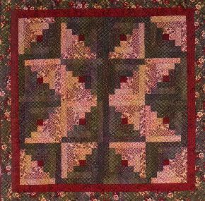 17 Best Images About Log Cabin Quilts On Pinterest