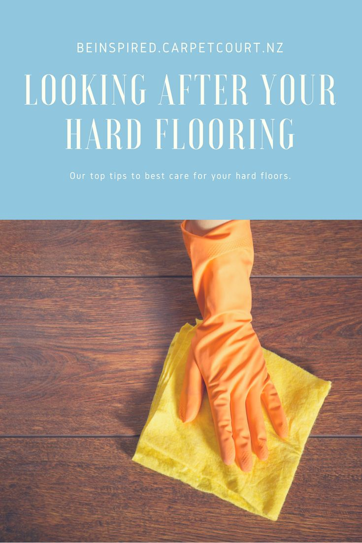 Get our tips on how to make sure you're looking after your hard flooring properly