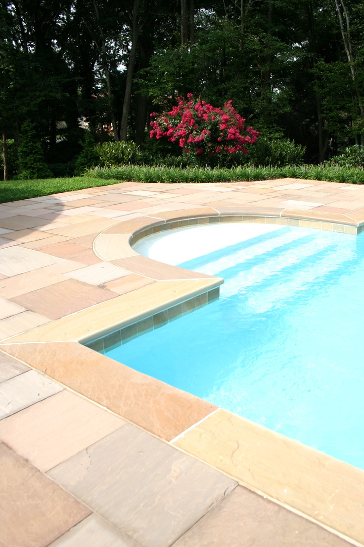 15 best Sandstone Pool Backyard by Main Street images on Pinterest ...