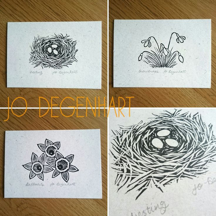 Spring Mini prints by Jo Degenhart
