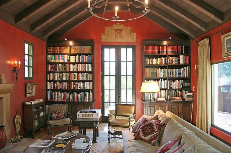 lighting-interior-decoration-interesting-colonial-house-interior-feat-colonial-wood-gable-roof-and-chandelier-with-iron-frame-combine-red-color-wall-feat-colonial-wood-book-storage-and-colonial-beige.jpg 900×600 pixels