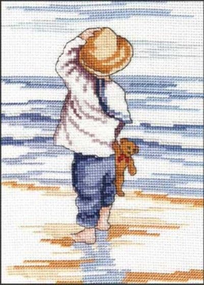 """All our Yesterdays, Faye Whittaker """"Reflections"""" Kreuzstichpackung / cross stitch kit"""