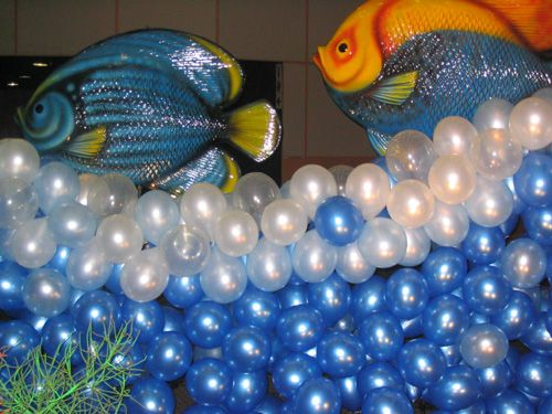 fish balloons decorations   Balloons Just For You