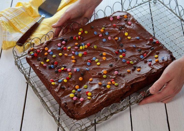 Sjokoladekake i langpanne uten egg
