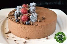Рецепт: Шоколадно-муссовый торт / Торты