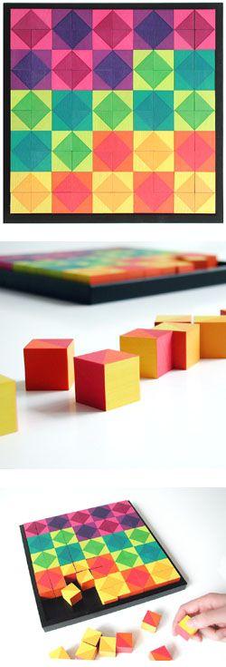 Naef Mosaik Mosaic Wooden Puzzle Toy | NOVA68 Modern Design