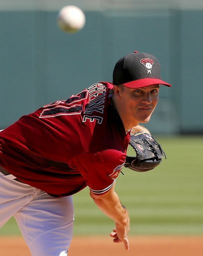 Zack Greinke, Arizona Diamondbacks