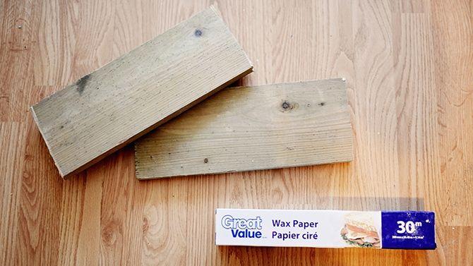 Transfert d'image sur bois