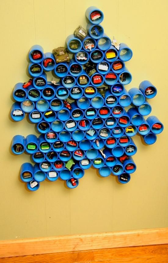 Cars galore? Try this fun display!