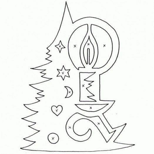 Новогодние и Рождественские вытынанки (38 фото) | БЛОГ ДОМОХОЗЯЙКИ