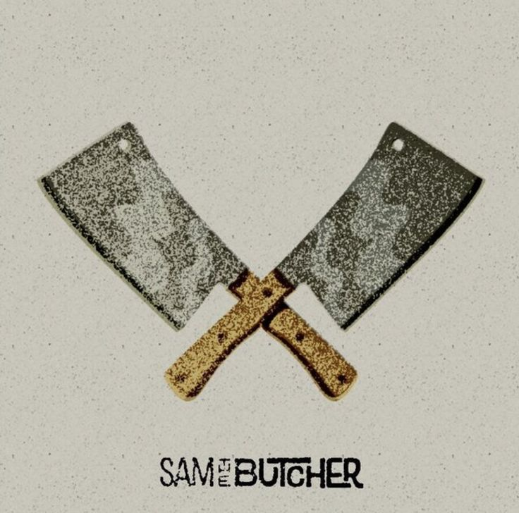 Sam The Butcher Branding