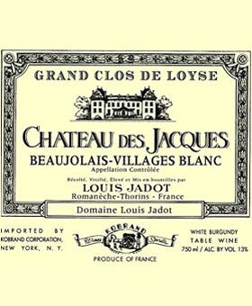 Louis Jadot, Beaujolais Blanc, France | organic wines
