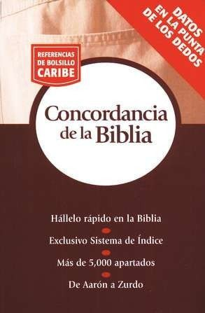 Referencia de Bolsillo Caribe: Concordancia de la Biblia (Nelson's Pocket Reference Bible Concordance)