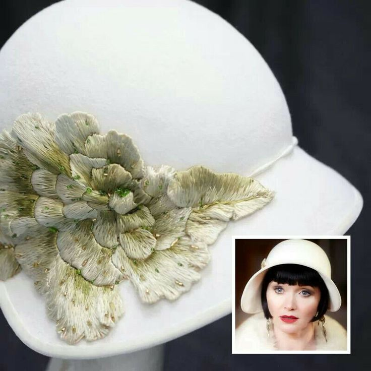 Another view of the fabulous cloche Miss Phryne Fisher is wearing when we first meet her in Miss Fisher's Murder Mysteries. Description from pinterest.com. I searched for this on bing.com/images