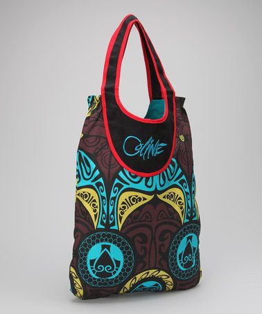 Take a look at this Turquoise Tote Bag by Coline USA on #zulily today!