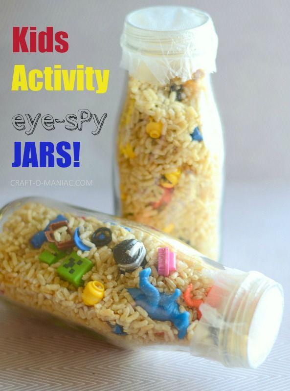 Kids Activity Eye Spy Jars @walmart #pressnsealhacks #PMedia #ad @gladproducts