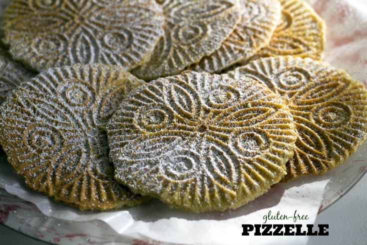 Thin, delicate and crispy pizzelle cookies from the Abruzzo region of Italy are lovely to bake during Christmas or any time of the year. Perfect to enjoy with an espresso for a coffee break.