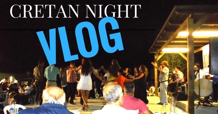 Vlog : Κρητική βραδιά με το Σαμόλη-Traditional cretan night
