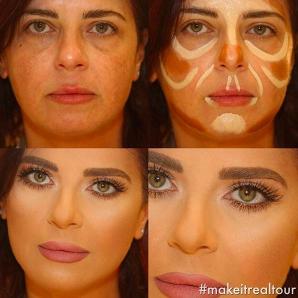 The Power of Makeup Amazing Beauty Transformations  Pampadour