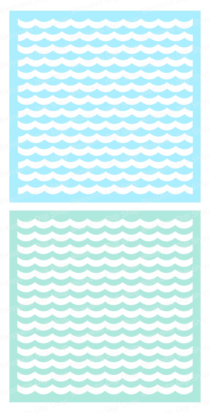 Best 25 wave stencil ideas on pinterest wave clipart quilting a set of 2 wave pattern stencils available to download at etsy file types included amipublicfo Images