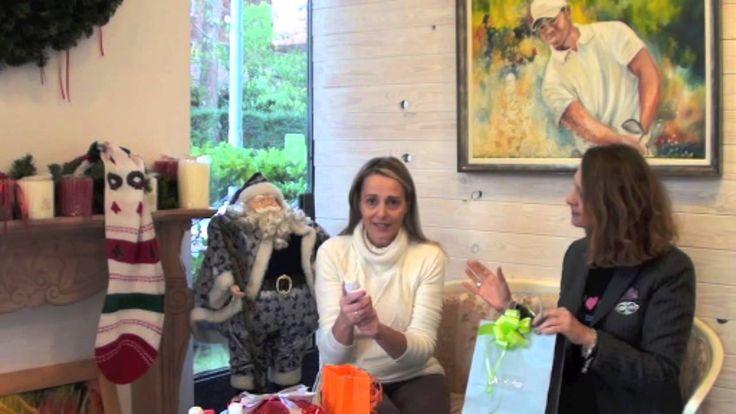 Regali di Natale di golf e psiche
