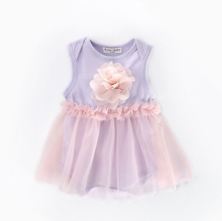 >> Click to Buy << 2017 New Fashion Baby Girls Clothes Summer Queen Infant Baby Girl Bodysuit Sleeveless Floral Print Mesh Princess Girls Dress #Affiliate