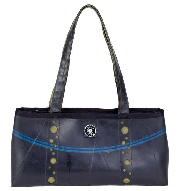Mini Recycled Tote from The Gifting Store #fairtrade #eco $76