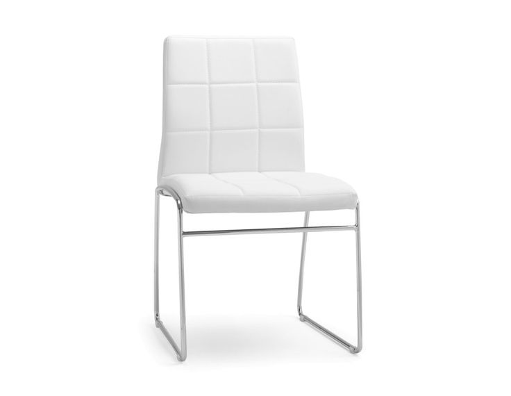 CUBE - Dining chair - White