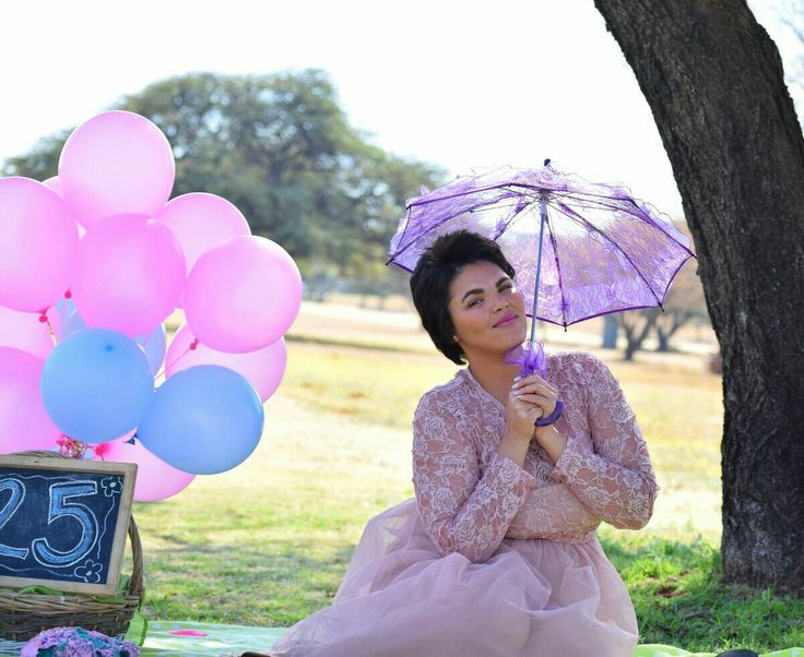 #celestedqstarr #25th birthday    Pink and Blue #Balloons  #Umbrella Tulle and Lace Dress #PlusSize   Photo by PhotoJeni'Q