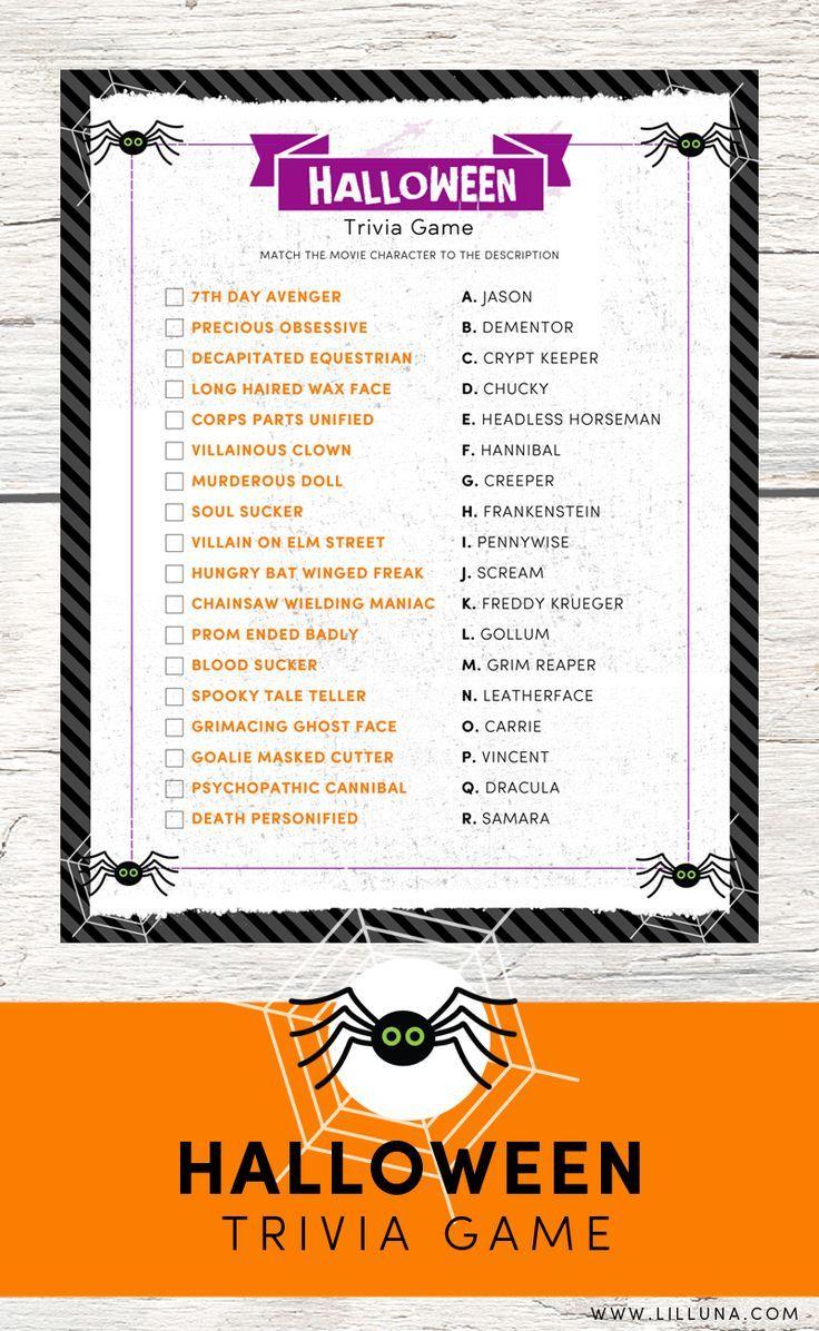 Best 25+ Halloween trivia ideas on Pinterest | Free halloween ...