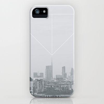 November days in Milan iPhone & iPod Case by Daniel Rey - $35.00