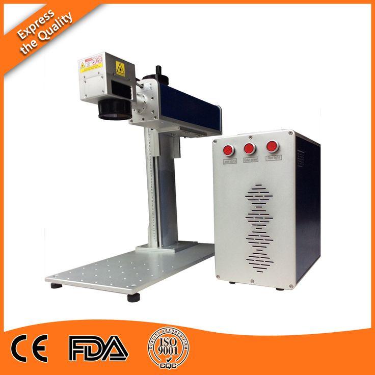 20W Fiber Metal Laser Etching Machine  for Rubber