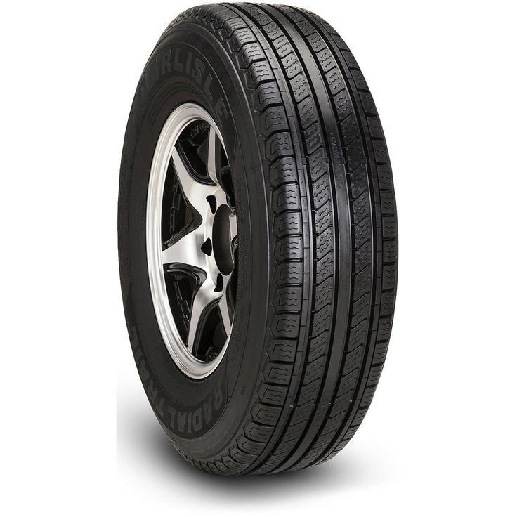 Carlisle Radial Trail HD Trailer Tire - ST175/80R13 LRC/6 ply