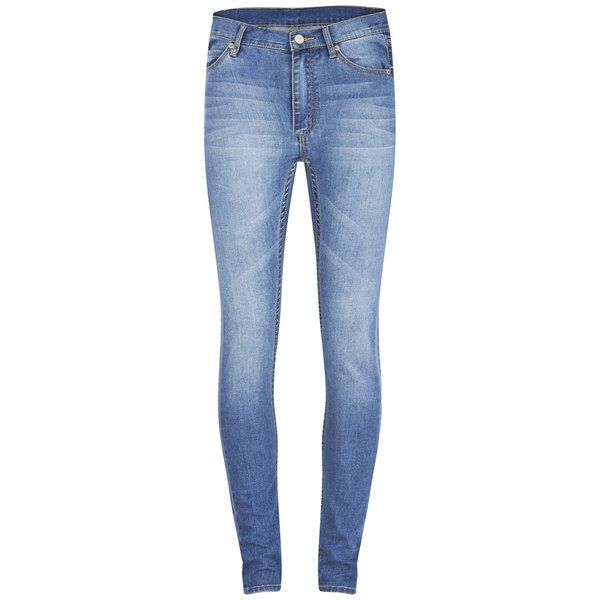 Cheap Monday Women's Second Skin High Rise Skinny Jeans - Rise Above