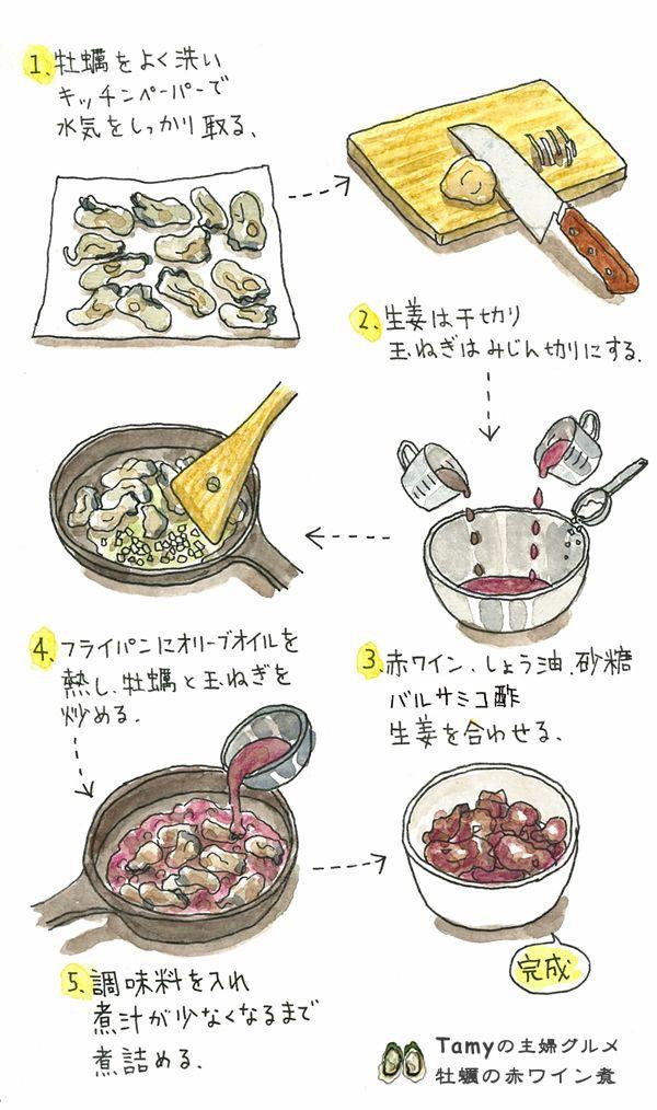 【インスタ映え】「牡蠣の赤ワイン煮」驚くほどカンタンで美味しい! - いまトピ