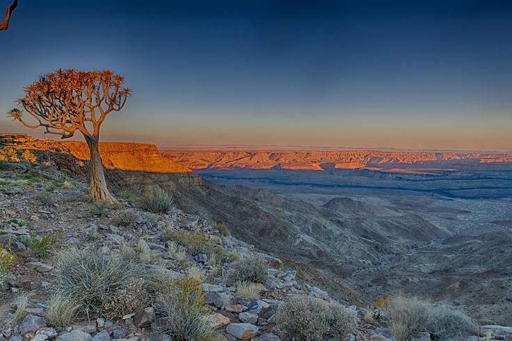 Fish River canyon, Namibia, South Africa