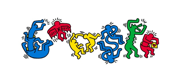 Nos encanta el arte callejero de Keith Haring.