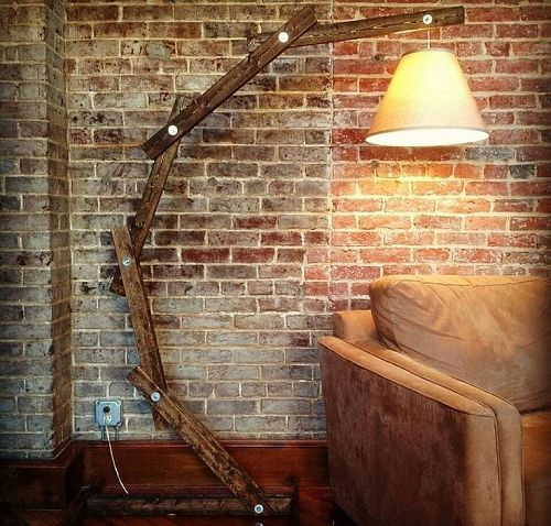 Items Similar To Bamboo Rustic Floor Lamp, Beach Lamp, Rustic Wood Floor  Lamp, Square Rustic Table Lamp, Height Floor Lamp On Etsy