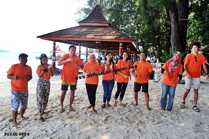 Pulau Sepa Memiliki Pantai Pasir Putih